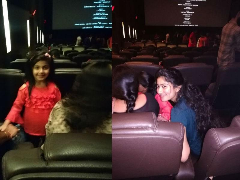 Sai Pallavi and Veronika Arora,Sai Pallavi,Veronika Arora,Diya,Diya movie,Diya special screening,Sai Pallavi at Diya special screening
