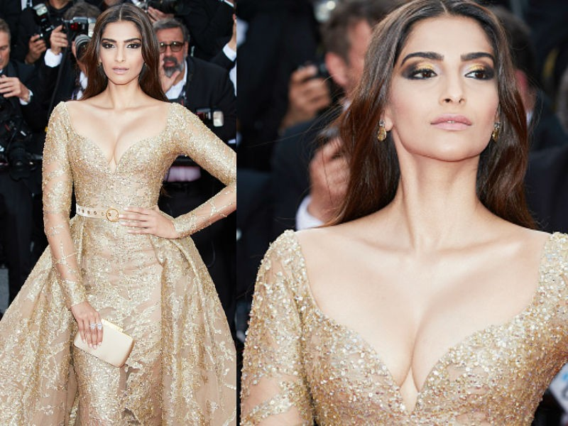 Sonam Kapoor,actress Sonam Kapoor,Sonam Kapoor at Cannes film festival,Cannes film festival,Sonam Kapoor appearance in Cannes film festival