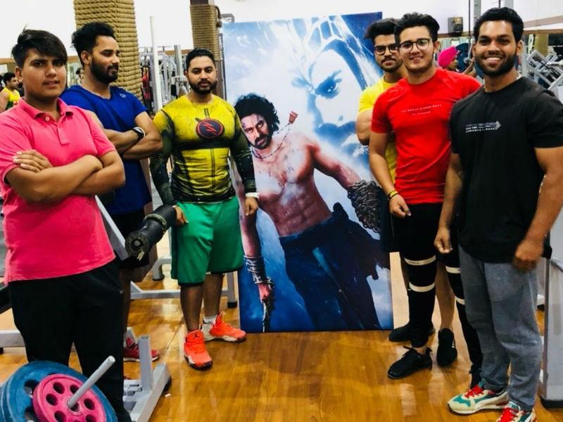 Baahubali superstar,Baahubali actor,Prabhas,actor Prabhas,Prabhas turns Poster boy,Baahubali gym,Prabhas stardom
