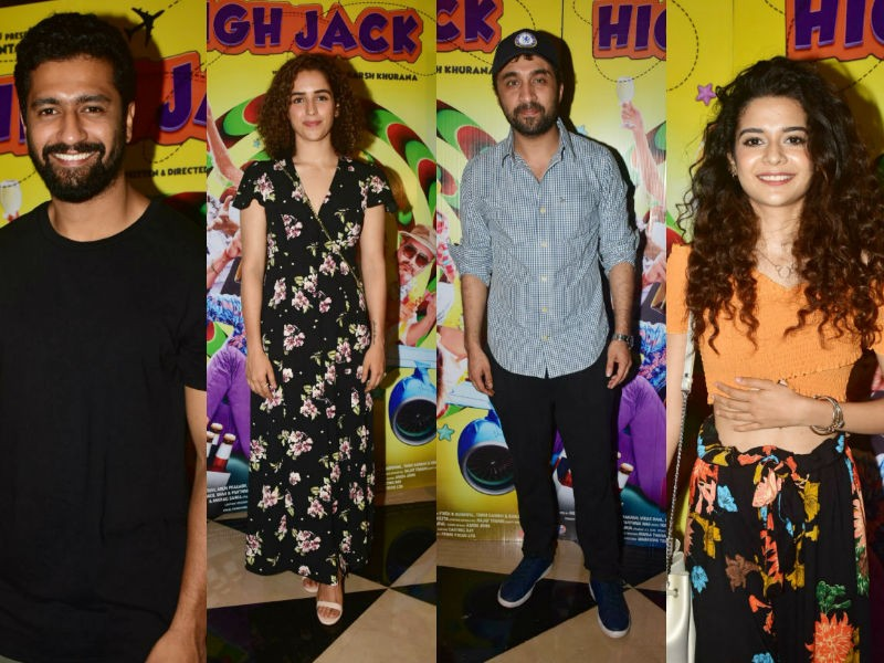 High Jack special screening,High Jack,Vicky Kaushal,Sumeet Vyas,Siddhanth Kapoor,High Jack special screening pics,High Jack special screening images,High Jack special screening stills,High Jack special screening pictures