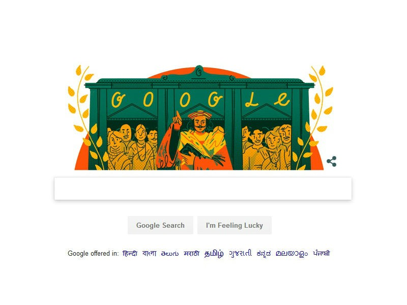 Google Doodle,Raja Ram Mohan Roy,Raja Ram Mohan Roy birth anniversary,Raja Ram Mohan Roy 246th birth anniversary,Father of the Indian Renaissance,Raja Ram Mohan Roy birthday