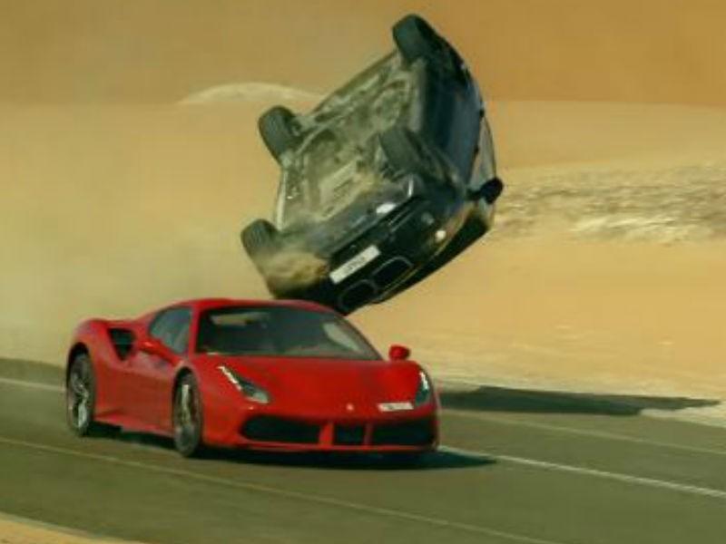 Lamborghini,Aston Martin,Maserati,Ferrari,Race 3,Salman Khan,Salman Khan Race 3,Race 3 pics,Race 3 action scene,Race 3 action scene video,Race 3 action scene pics
