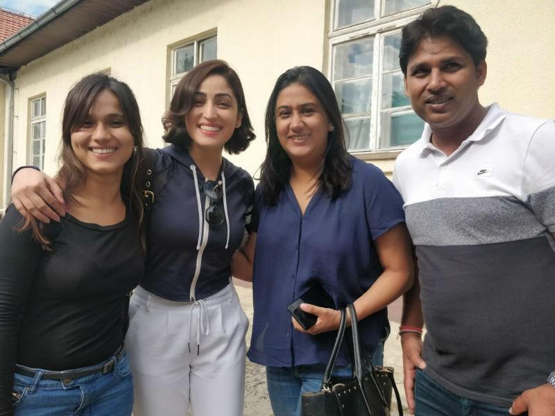 Yami Gautam,actress Yami Gautam,Yami Gautam wraps up URI,URI,URI wraps up,URI shooting,URI movie shooting