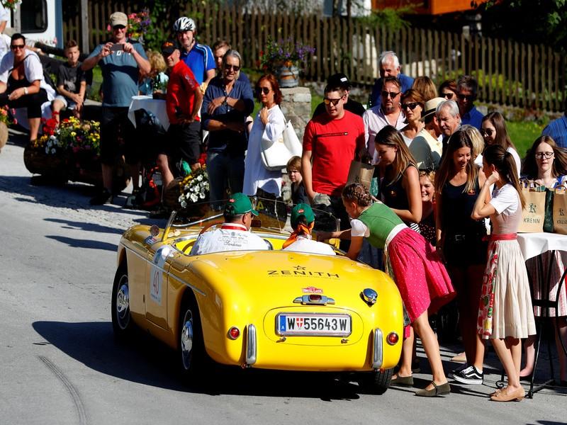 Car rally,Austria,Ennstal Classic car rally,Vintage car,Vintage car rally
