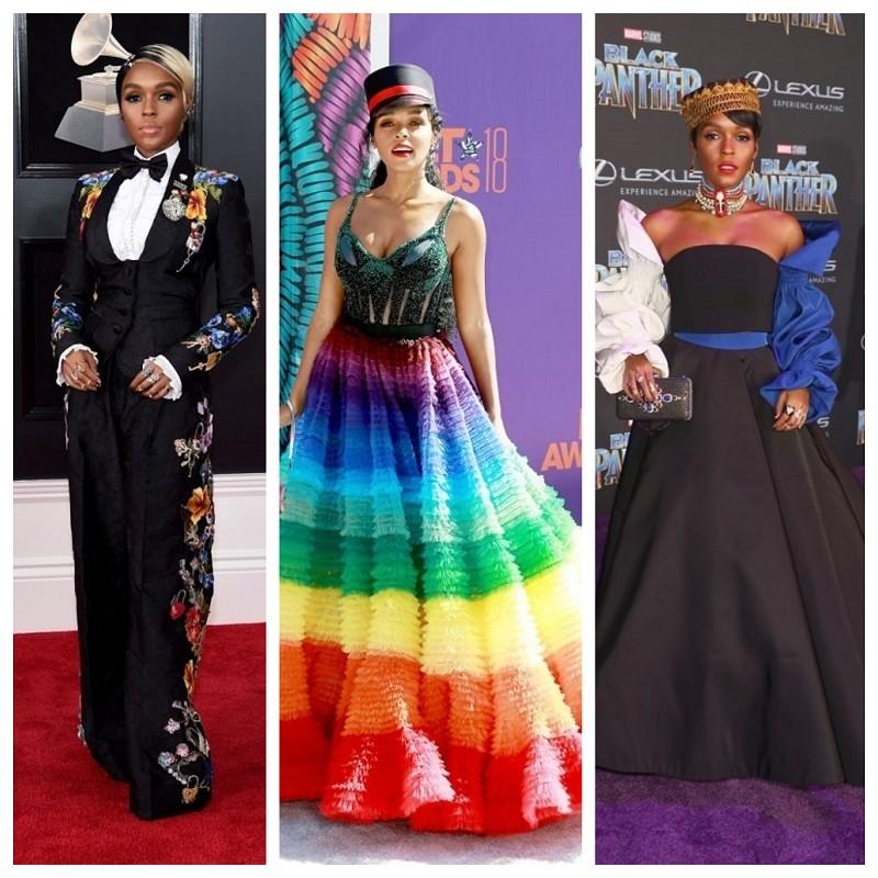 Janelle Monáe,Hidden Figures,women empowerment,feminism,singer,bizarre fashion style,fashion style,runway,show stopper