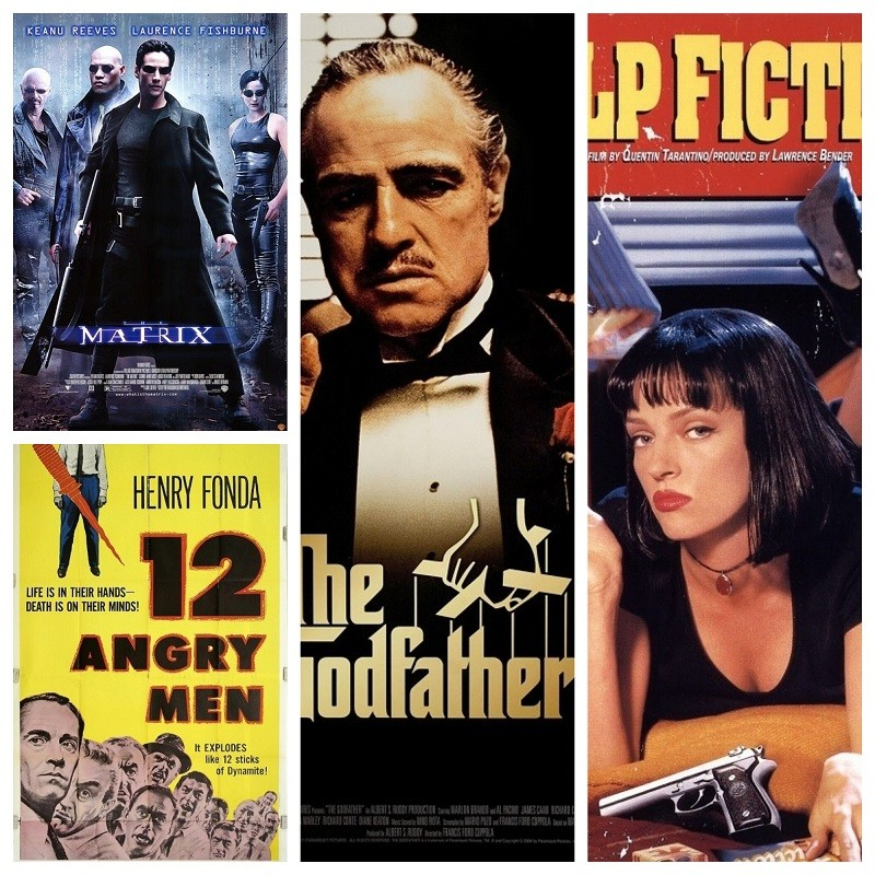 Perfect movies,hollywood movies,best movie of all time,mario puzo,citizen kane,oscars,francis ford coppola the godfather,fight club