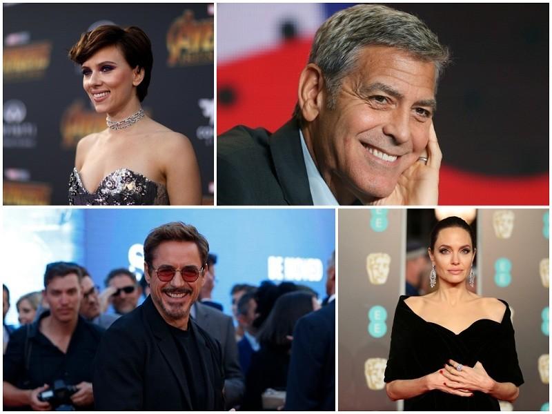 Highest paid actress,highest paid actresses,highest paid actors,Highest paid actor of 2018,hollywood's highest paid,most paid actors,richest actors,Marvel's iron man,bollywood