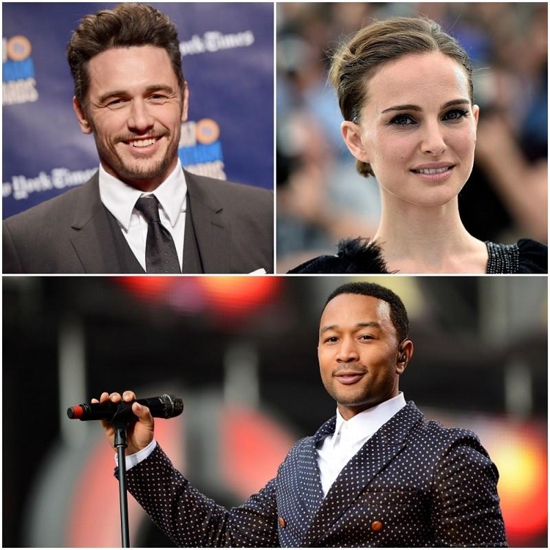 Smart celebrities,celebrities who are smart,james franco,Natalie Portman,john legend,celebrities and education,emma watson