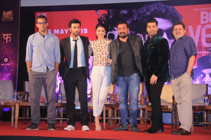 Ranbir Kapoor,Anushka Sharma Unveil Second Trailer of Bombay Velvet,Second Trailer of Bombay Velvet,Ranbir Kapoor pics,Anushka Sharma,Ranbir Kapoor,Anushka Sharma,Anushka Sharma pics,Bombay Velvet,bollywood movie Bombay Velvet,Bombay Velvet second trail