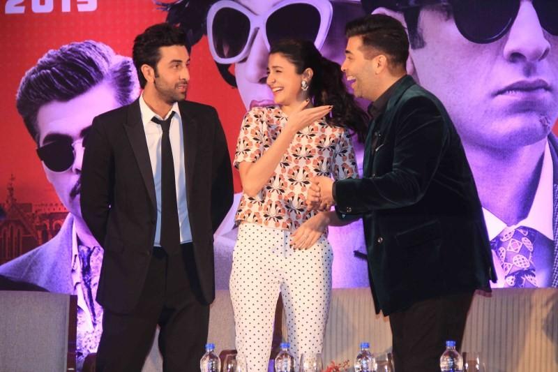 Ranbir Kapoor,Anushka Sharma Unveil Second Trailer of Bombay Velvet,Second Trailer of Bombay Velvet,Ranbir Kapoor pics,Anushka Sharma,Ranbir Kapoor,Anushka Sharma,Anushka Sharma pics,Bombay Velvet,bollywood movie Bombay Velvet,Bombay Velvet second trail
