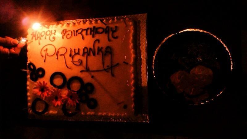 Priyanka Upendra Birthday Cake