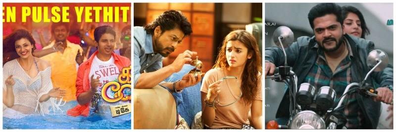 Kavalai Vendam, Dear Zindagi and Achcham Yenbadhu Madamaiyada rule Chennai box office