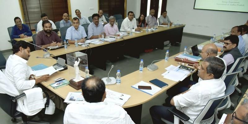 Jagan Mohan Reddy review meeting