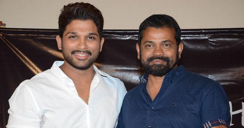 Allu Arjun with director Sukumar