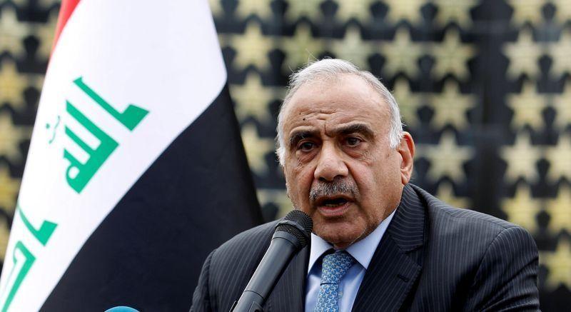 Iraq PM Adel Abdul Mahdi