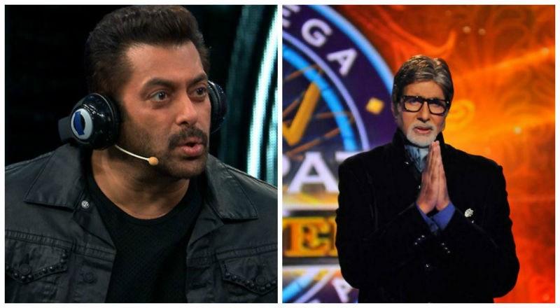 Salman Khan in Bigg Boss 11 and Amitabh Bachchan in KBC