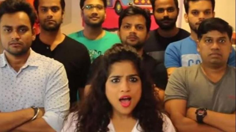 RJ Malishka's new Monsoon Pothole Song Mumbai Khadyaat