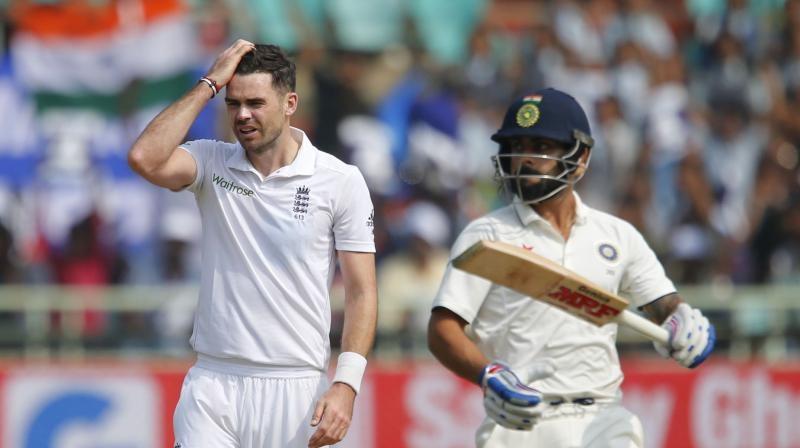 James Anderson targets Virat Kohli