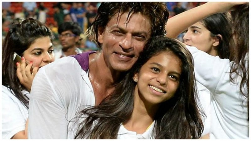 Shah Rukh Khan with daughter Suhana