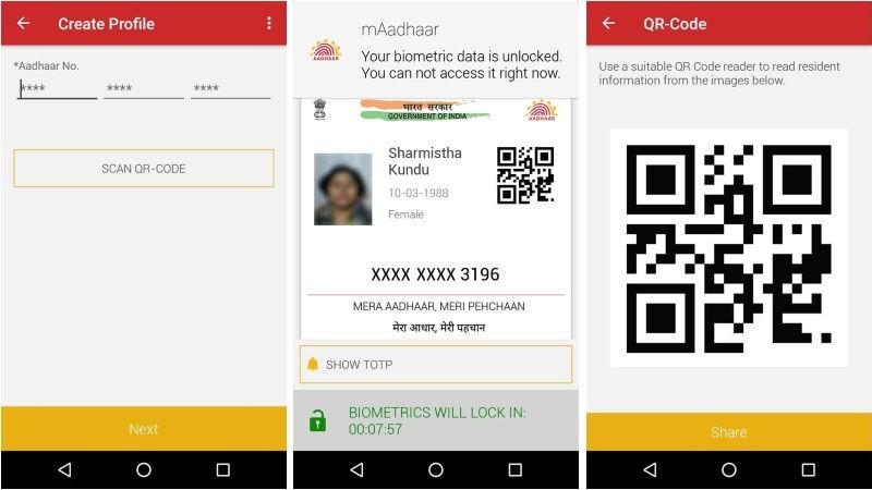 mAadhaar app, iOS version, Apple app store,