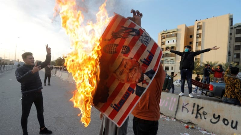Attack on US embassy in Baghdad