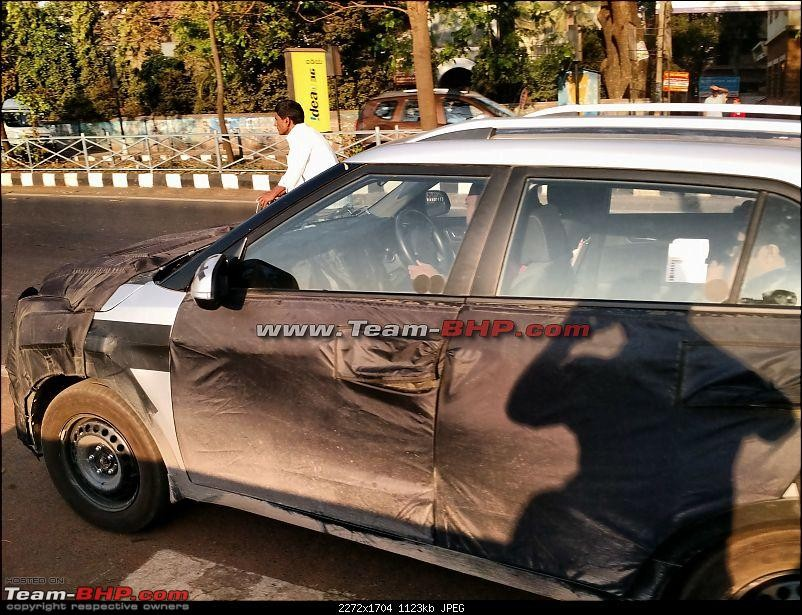 Hyundai ix25 Compact SUV Spied Testing Again, to Launch during Festive Season; Price, Feature Details