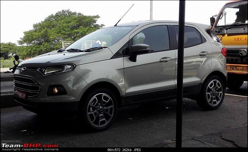2016 Ford Ecosport Facelift