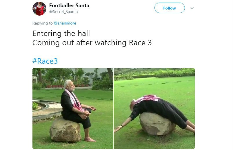 Image result for race 3 memes