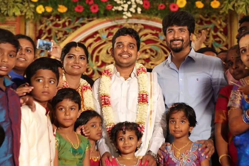 Sivakarthikeyan,Indru Netru Naalai director,Indru Netru Naalai,Ravi Kumar wedding,Ravi Kumar marriage,Ravi Kumar weds Priya,Sivakarthikeyan pics,Sivakarthikeyan images,Sivakarthikeyan photos,Sivakarthikeyan stills