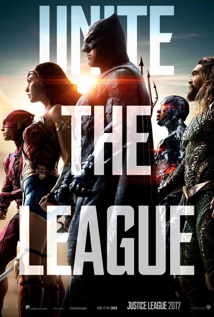 Justice League poster,Justice League movie poster,Ben Affleck,Henry Cavill,Gal Gadot,Jason Momoa,Ezra Miller,Ray Fisher,Ciarán Hinds,Amy Adams,Willem Dafoe,Jesse Eisenberg,Jeremy Irons,Diane Lane,Connie Nielsen