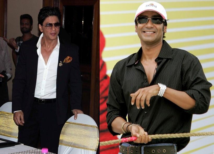Shah Rukh Khan; Ajay Devgn