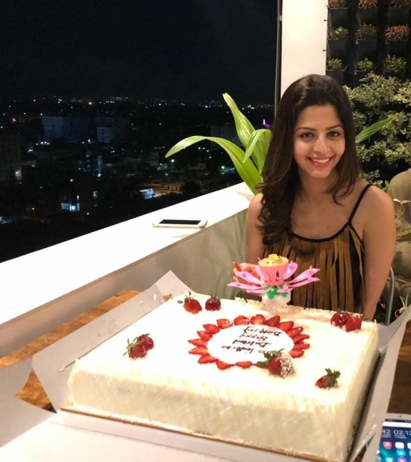 Vedhika,Vedhika birthday,Vedhika birthday celebration,Oviyaa,Nikki Tamboli,Vedhika pics,Vedhika images,Oviyaa pics,Oviyaa images