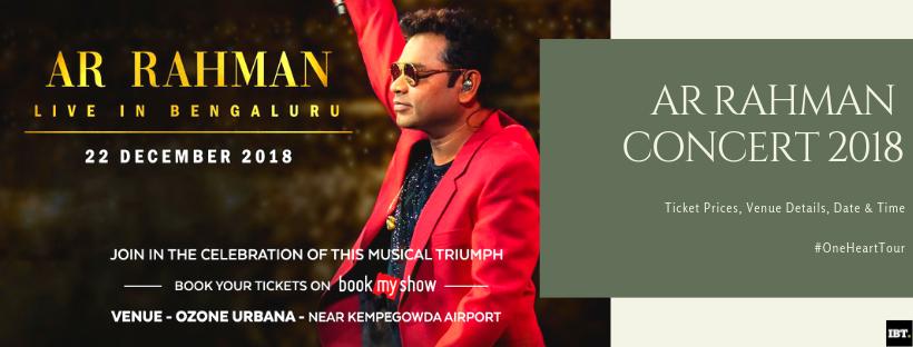 AR Rahman to perform live in Bengaluru