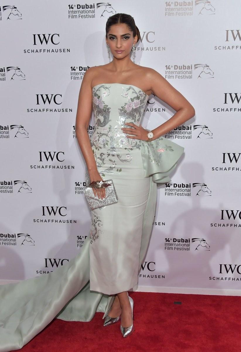 Sonam Kapoor,actress Sonam Kapoor,Dubai International Film Festival 2017,Dubai International Film Festival,DIFF17,IWC Filmmaker Awards