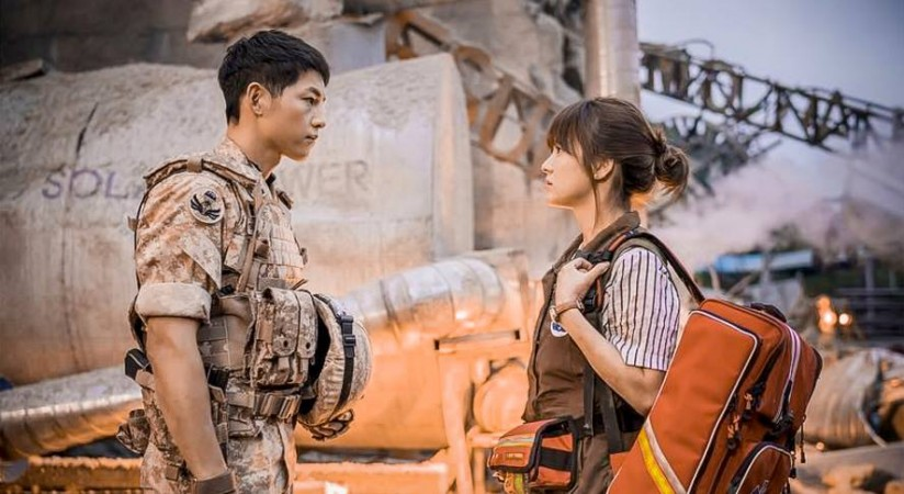 Descendants Of The Sun Pictured Song Joong Ki