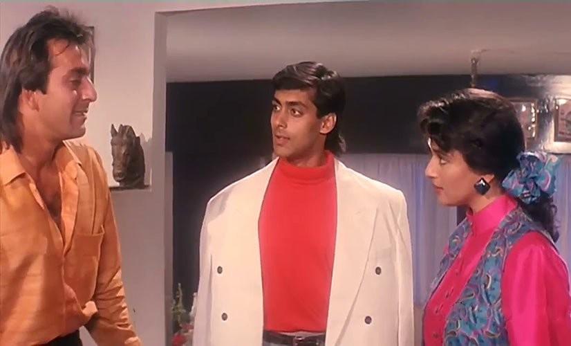 Sanjay Dutt,Salman Khan,Sanjay Dutt and Salman Khan,Saajan,25 years of Saajan,Saajan 25 years,Salman Khan movie,Sanjay Dutt movie