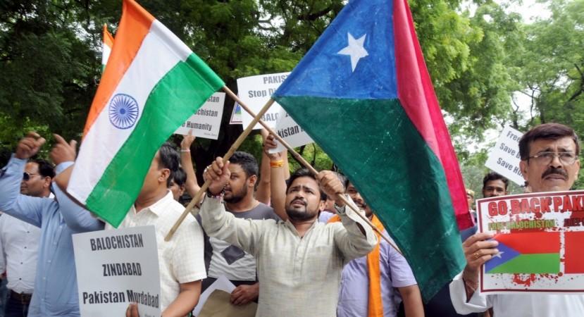 pro Balochistan protest