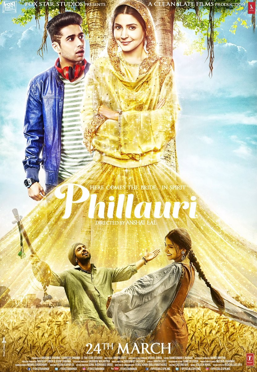 Anushka Sharma,Diljit Dosanjh,Phillauri first look poster,Phillauri first look,Phillauri poster,Phillauri,Phillauri movie poster,Phillauri pics,Phillauri images,Phillauri photos,Phillauri stills,Phillauri pictures