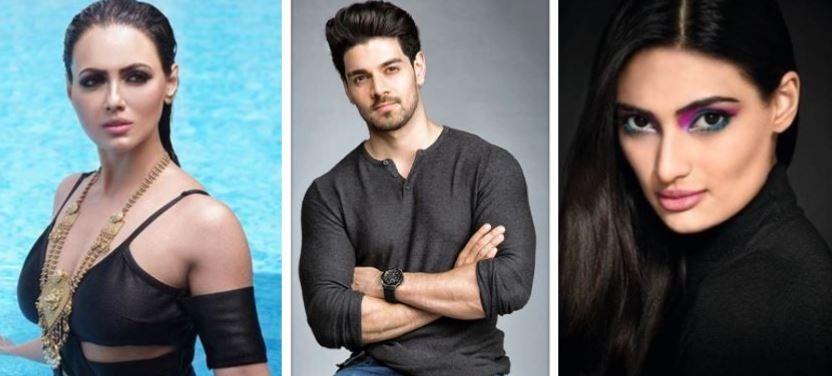 Sana Khan, Sooraj Pancholi, Athiya Shetty