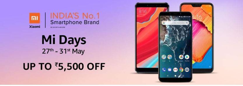 Xiaomi Mi Days sale on Amazon