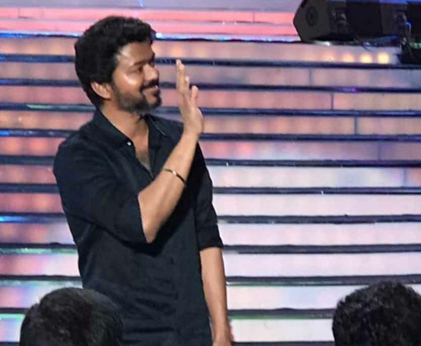 Bigil,bigil audio launch,vijay,thalapathy vijay,atlee kumar,bigil audio launch photos