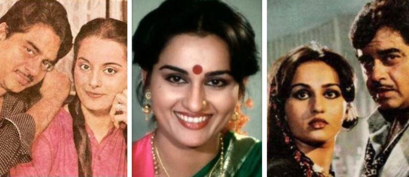 Shatrughan Sinha, Reena Roy, Poonam Sinha
