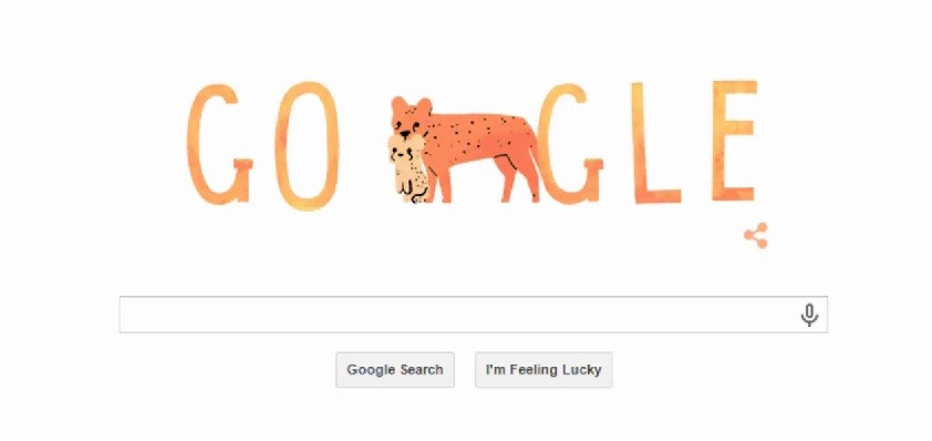 Google Doodle on Mother's Day