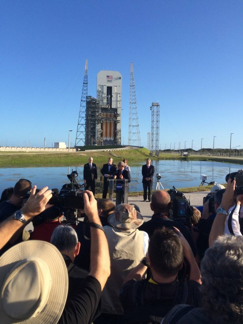 Orion ready for launch