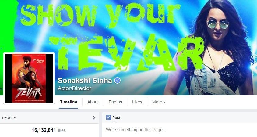 Sonakshi Sinha Facebook