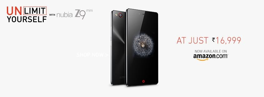 ZTE Nubia Z9 Mini Officially Released in India; Price, Specifications
