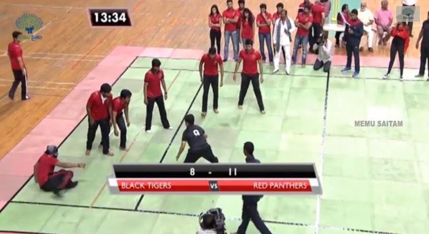 Manoj's team Red Panthers are nearing victory.