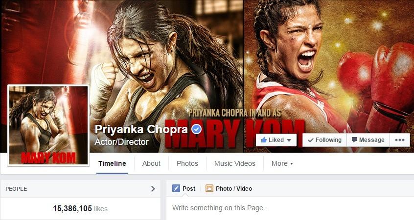 Priyanka Chopra Facebook