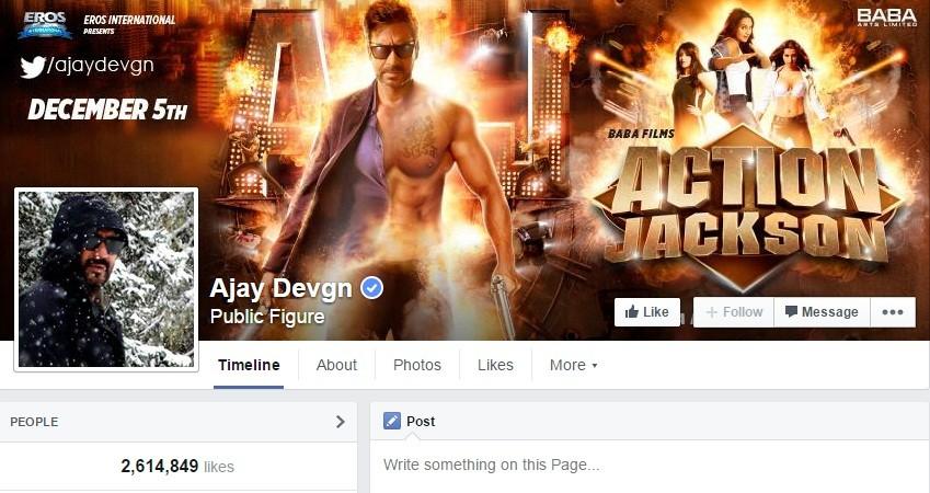 Ajay Devgn Facebook