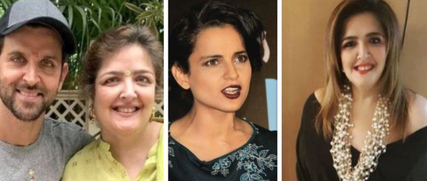 Hrithik Roshan, Sunaina Roshan, Kangana Ranaut